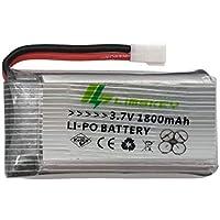 Bateria Extra Drone 3.7v 1800mah Lipo 20 Minutos De Voo