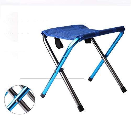 Camping Stuhl Tragbare Ultra Light Iron Smashing Angeln Hocker Folding Lightweight Beach Fishing Chair