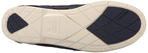 Crocs Men's Beach Navy Shoe Line Canvas Boat M Stucco rrCqOTx