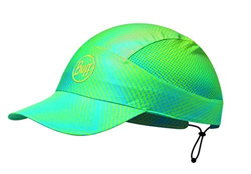 Buff UV Pack Run Cap Pack Lite R-Jam Lime - One Size