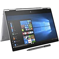 HP Spectre x360-13t Quad Core(8th Gen Intel i7-8550U, 16GB RAM, 512GB PCIe NVMe SSD, IPS micro-edge Touchscreen Corning Gorilla, Win 10 Ink)Bang&Olufsen 13.3 2-in-1 Convertible Stylus - Silver