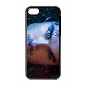 Ian Somerhalder 02 de funda caja del teléfono celular 5c mejor cubierta del funda iPhone negro