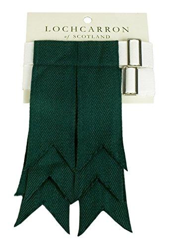 - Premium Quality Wool Kilt Hose Flashes (Bottle Green)
