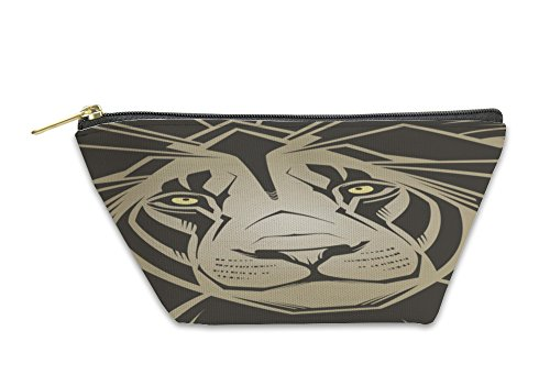 Gear New Accessory Zipper Pouch, Lion Illustration, Large, 3513187GN by Gear New