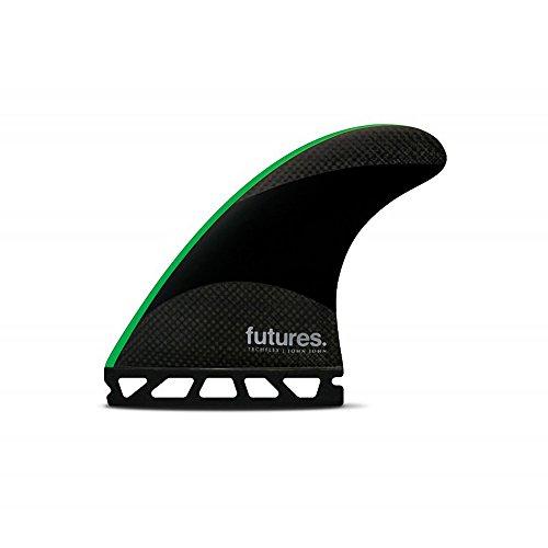 Futures John John Techflex Thruster Black/Neon Green Medium by Future Fins
