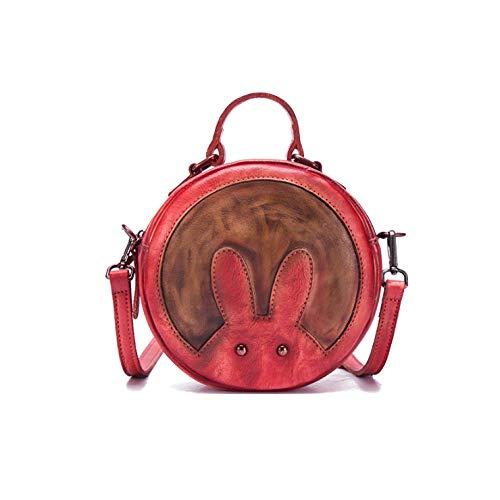 Style à Style Mode Red De Main Bandoulière Dames Sac à Sac Simple Rétro Chinois La Fait AJLBT xqtv70wRCn