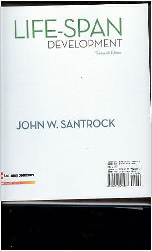 Life-Span Development (13th Edition): John Santrock: 9780077628277 ...