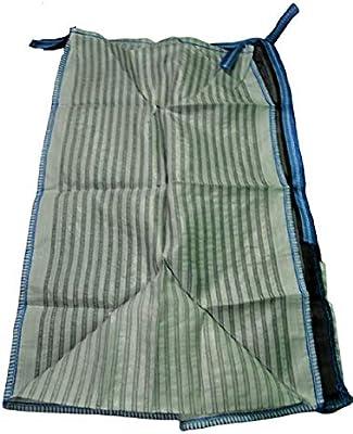 brennholzsack kaminholzsack **100 x 100 x 160 cm **netzgittergewebe bois de s/écher /à transporter De bois 5 x sac big bag sp/écial pour bois de chauffage