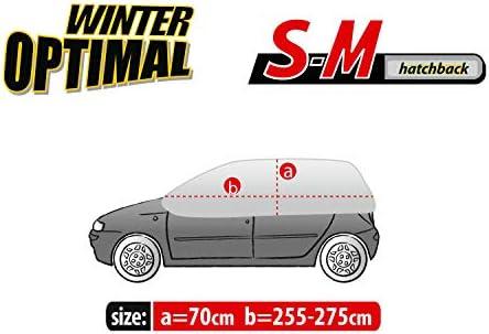 Kegel Blazusiak Halbgarage Winter SM Abdeckung Abdeckplane Frost Sch/ütz//TX-WINTER-SMX042