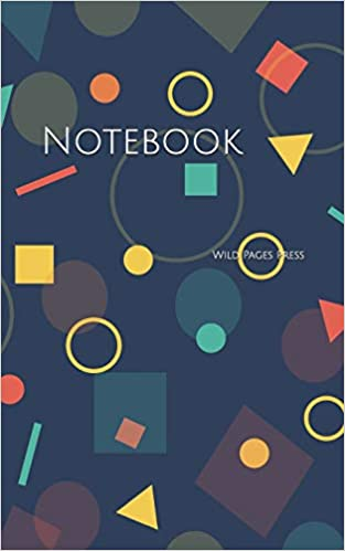 Notebook: background backdrop geometric pattern design mathematics