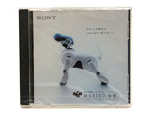 Rare Vintage Sealed Entertainment Robot AIBO ERS-7 Promotion DVD Shrink Wrap