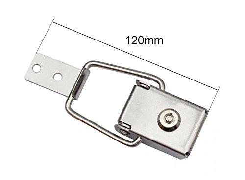 Abschlie/ßbarer Edelstahl Spannverschluss Kistenverschluss Kofferverschluss 40-15 Gr/ö/ße 120mm