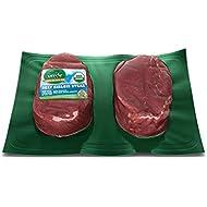 Verde Farms, Organic 100% Grass-Fed Perfect Portion Sirloin Steaks, 2pc, 10oz