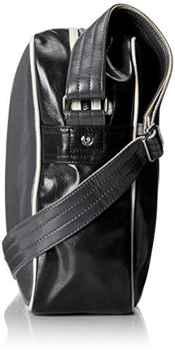 Fred Perry Classic Hombre Shoulder Bag Gris Antracita