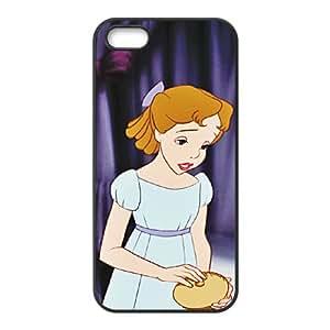iPhone 4 4s Cell Phone Case Black Disney Peter Pan Character Wendy Darling 001 KYS1139478KSL