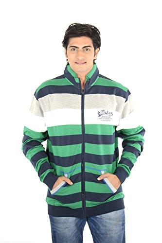 Thread Craft Full Sleeve Striped Men #39;s Sweatshirt