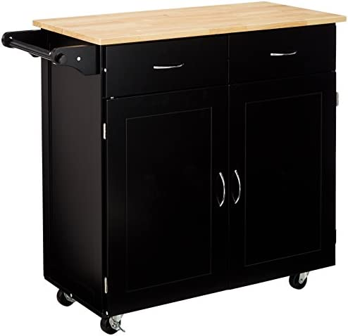 Target Marketing Systems Large Rolling Kitchen Cart