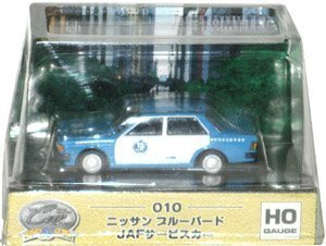 The Car Collection 80HG 010 Nissan Bluebird JAF service car by Tomytec