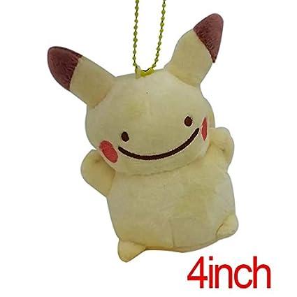 Pokemon felpa Llavero, 4,5 Ditto transformado en Pikachu ...