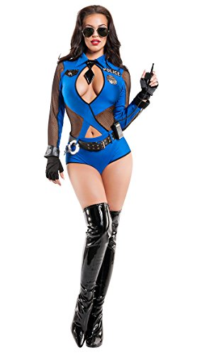 Naughty Officer Costume, Sexy Cop Costume