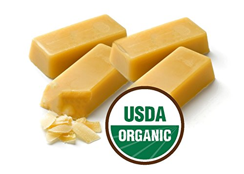 Earth Natural Botanical 100% PURE ORGANIC (First Cappings) Beeswax 1 oz. bars (4-pk)