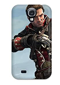 Best Tpu Case Cover For Galaxy S4 Strong Protect Case - Assassin's Creed: Rogue Design 1595765K26457476