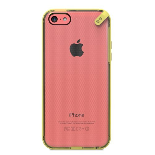 Puregear Apple iPhone 5C Slim Shell - Retail Packaging - Yellow (Pure Gear Slim Shell Iphone 5c)
