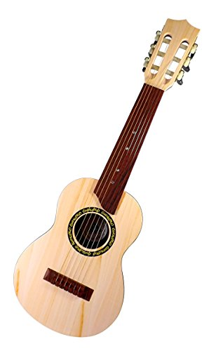 6 string 27 classical acoustic guitar toy for kids with tunable strings tight string mechanism. Black Bedroom Furniture Sets. Home Design Ideas