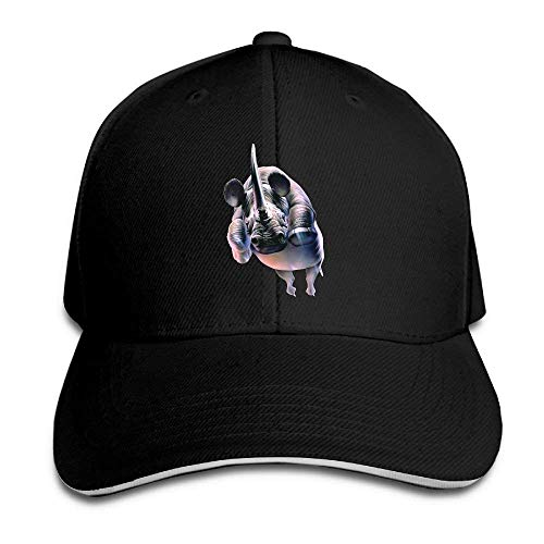 Hat Rhinoceros Jump Denim Skull Cap Cowboy Cowgirl Sport Hats for Men Women