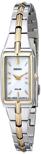 Seiko Women's SUP272 Two-Tone Watch - Dress Two Tone Wrist Watch