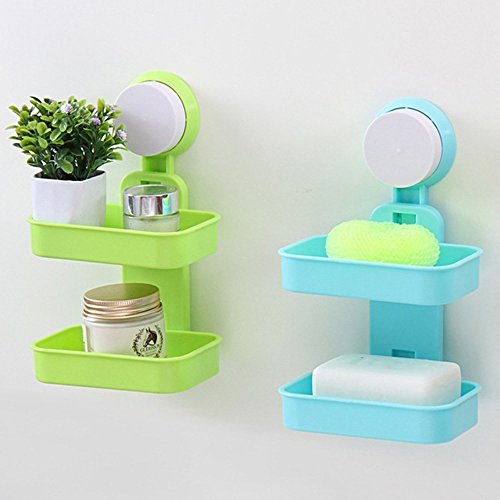 comfspo-two-layers-candy-color-bath-soap-dish-toilet-soap-holder-tray-storage-box-with-sucker