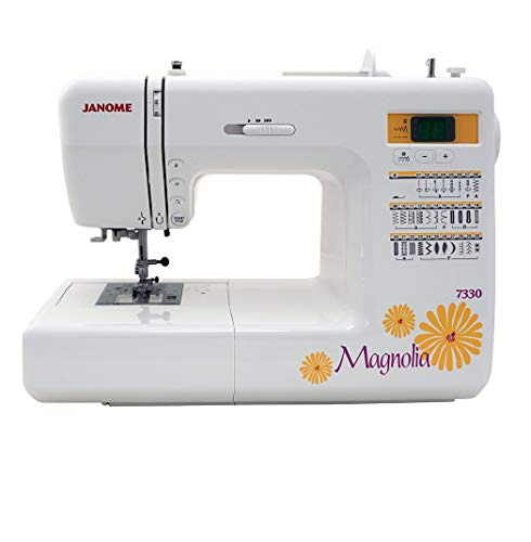 Janome 7330 Magnolia Computerized Sewing Machine with 30 Built-In Stitches (Renewed)