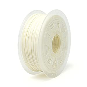 Gizmo Dorks 1.75mm HIPS Filament 1kg / 2.2lb for 3D Printers, White by Gizmo Dorks