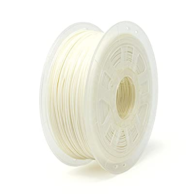 Gizmo Dorks PLA Pro Plus 3D Printer Filament 3mm (2.85mm) 1kg, Engineering Grade White
