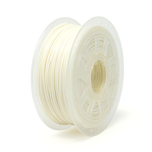 Gizmo Dorks 1.75mm PLA Filament 1kg / 2.2lb for 3D Printers, White