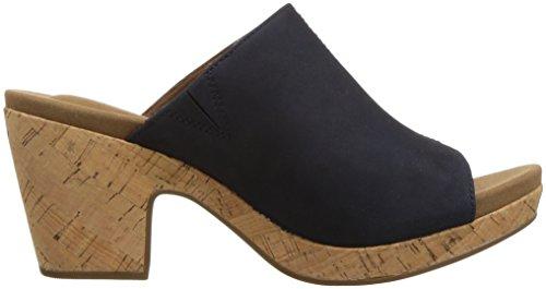 Sandalo Con Tacco Vivianne Da Donna Rockport Con Zaffiri Scuri