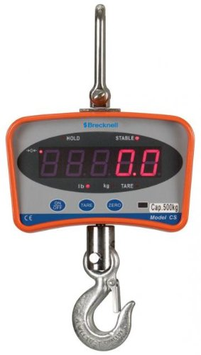 Digital Hanging Scale - 2000 lb. Capacity x 1 lb. Resolution by Salter Brecknell