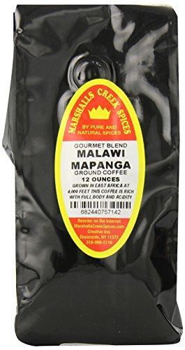 Marshalls Creek Spices Gourmet Ground Coffee, Malawi Mapanga,  12 Ounce