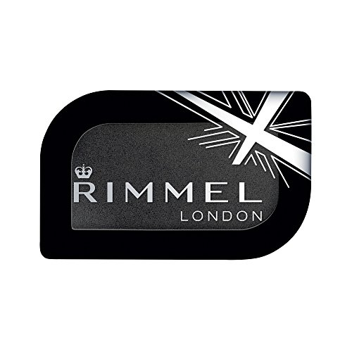 Rimmel London Magnif'eyes Mono Eyeshadow, Black Fender, 0.16