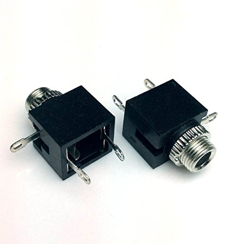 20 Pack CESS 1/8 Inch 3.5mm Female Mono Socket Panel Mount Chassis