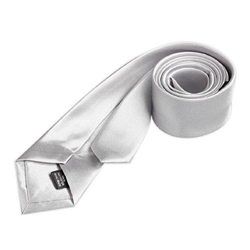 Plaine Cou B Hommes Parti Luxe Magrissime Slim Mariage Amison Cravate Cravate Casual Solide wqgI81Z