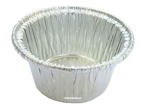 Disposable Aluminum Individual 2 oz. Foil Cups - individual Dessert Cups -sauce cups- mini ramekins. #S220 (50)