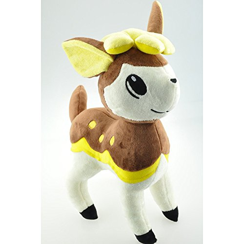 [30cm Pokemon Deerling Plush Toy Soft Stuffed Deer Animals Toys Doll Figure Collectible Toy Presents for] (Snorlax Costume Diy)