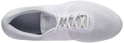 Laufschuhe Revolution White EU NIKE 100 Pure White Platinum Weiß 4 Herren qI7x56