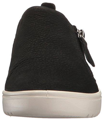 Ecco Kvinna Kvinnor Fara Zip Mode Sneaker Svart Nubuck