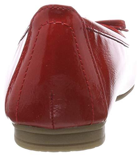 Femme 22163 Ballerines 22 Rouge Patent 8 505 8 Softline red 16wRgg
