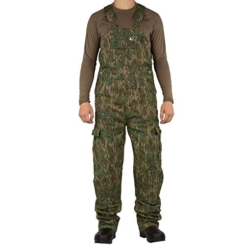 - Mossy Oak Men's Cotton Mill 2.0 Camouflage Hunting Bib Overall in Multiple Camo Patterns, Large