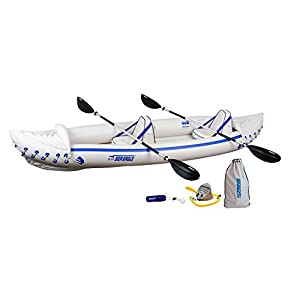 Sea Eagle Inflatable Kayak with Pro Package - Best Inflatable Sports Kayak - QuickSail Packages