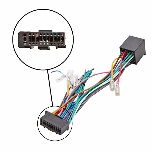 Inex Kenwood Pin Car Stereo Radio ISO Wiring Harness Loom Connector Adaptor Cable: