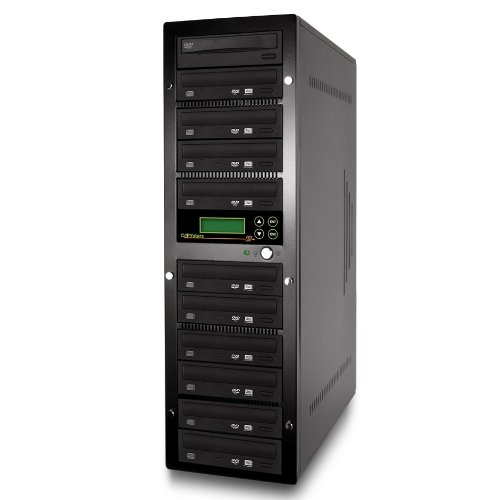 Copystar Stand Copier (Copystars CD Dvd Duplicator 1 To 10 Sata 24x DVD Burner + 500GB Hard Drive)